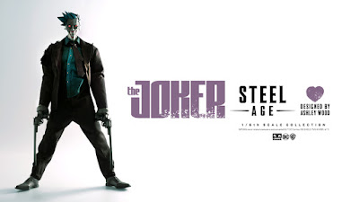 DC Comics Steel Age The Joker 1/6 Scale Collectible Figure by Ashley Wood x ThreeA