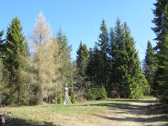 Kapliczka na polance z figurą MB Ludźmierskiej