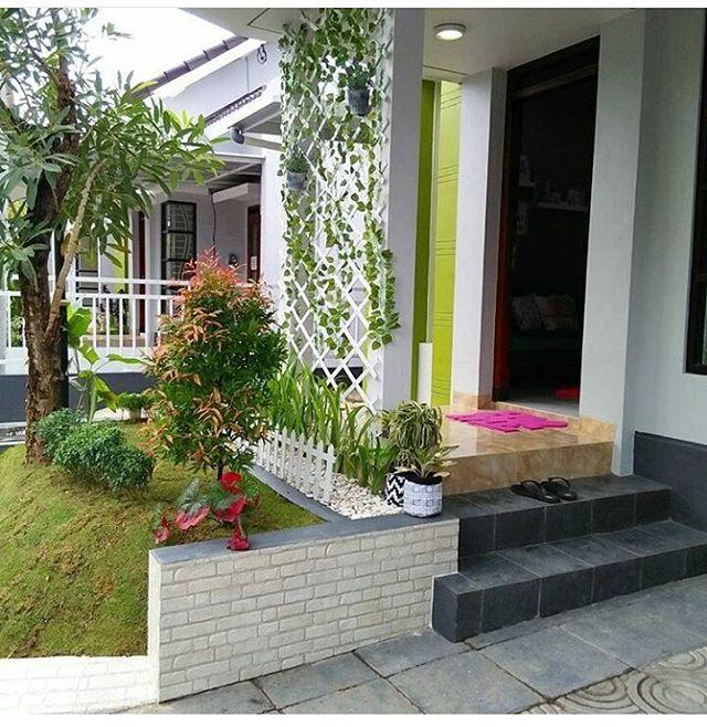 Cara dan contoh dekorasi teras rumah minimalis terbaru for Dekorasi rumah minimalis
