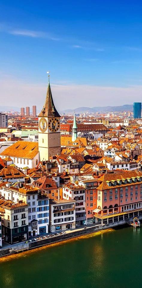 Top 10 Beautiful Cities to Celebrate Christmas | Zurich, Switzerland