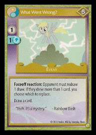 MLP What Went Wrong? GenCon CCG Card