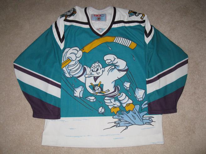 The Mighty Ducks of Anaheim – Alternate (1995-96 Season)  d47046c36