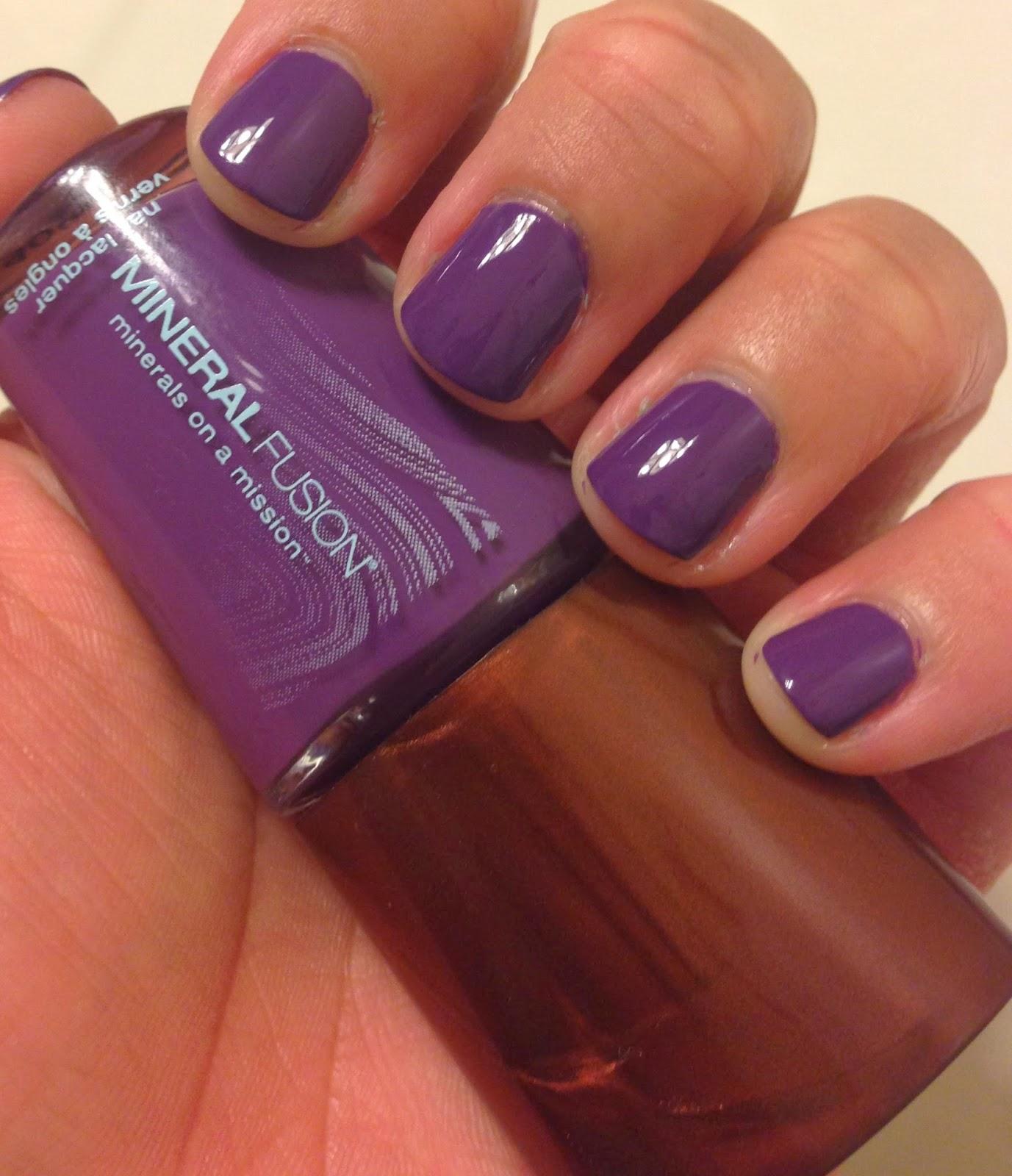 My Beauty Full Blog Mineral Fusion Nail Polish