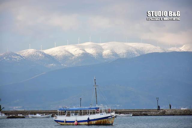 Η φωτογραφία της ημέρας: Πρόσκαιρη ανάπαυλα από τις χιονοπτώσεις