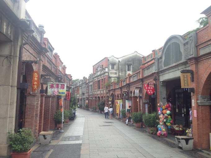 SanXia,New Taipei City-SanXia Old Street - A leisurely stroll on Monday,and the SanXia Temple,YongBo douhua