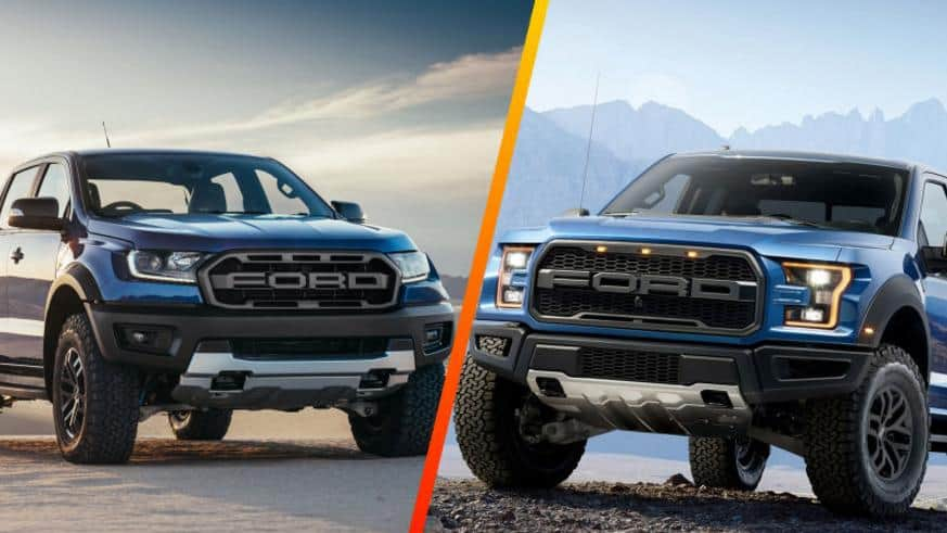 2019 Ford Ranger vs F150