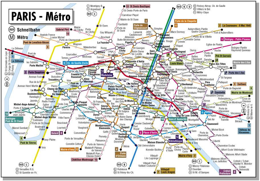 French Subway Map Print.Maps Of Dallas Map Of Paris France