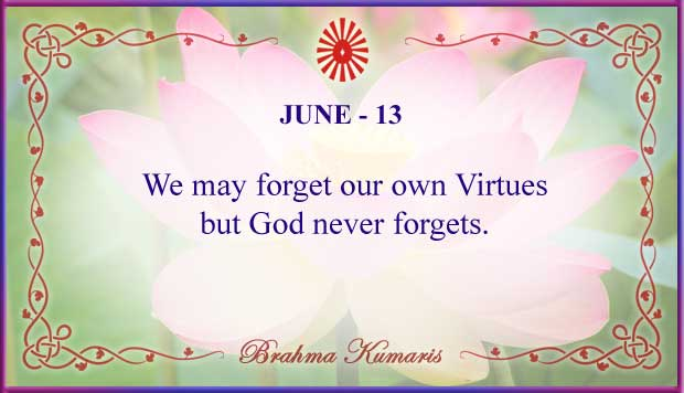 Thought For The Day June 13
