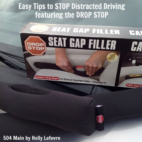 Stop distracted driving with a Drop Stop.