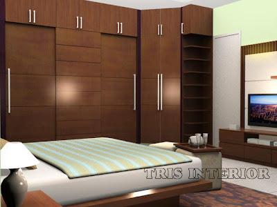 Jasa Pembuatan Setting Interior Kamar Tidur Bedroom
