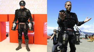 Bisa Mengudara Bak Iron Man, Pria Inggris Temukan Jas Terbang