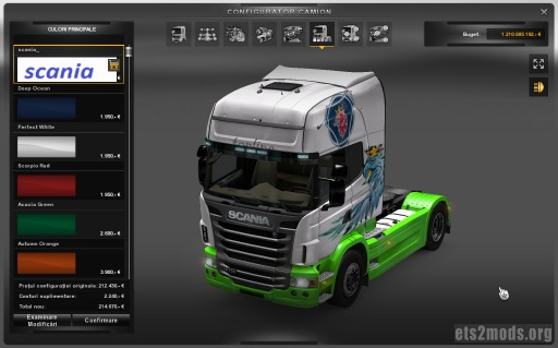 Scania Gryf Skin by Volvo2013