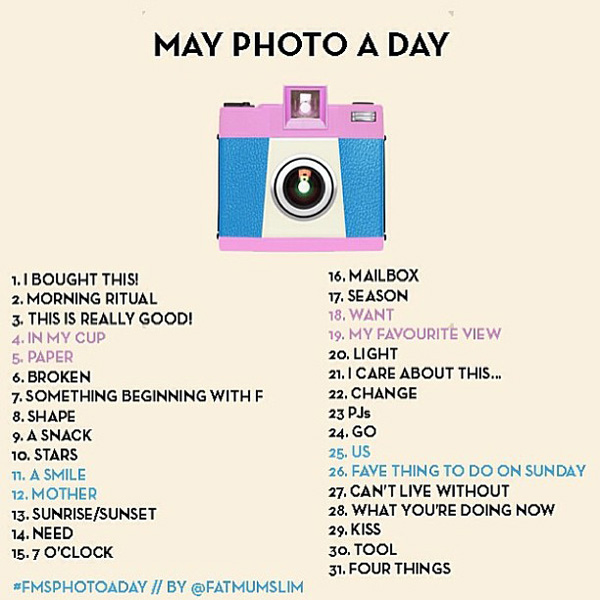 May Photo-a-Day!