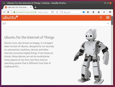 Ubuntu para el Internet de las cosas