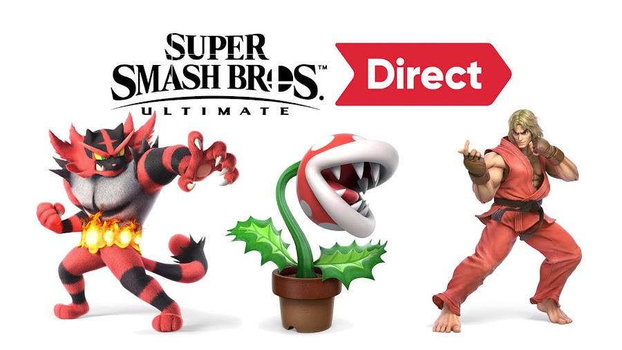 super smash bros ultimate direct 2018