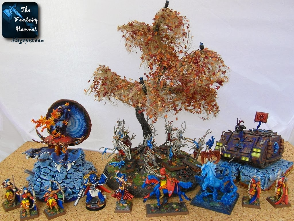 The Fantasy Hammer 2013 painting recap