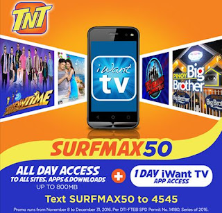 abb7a5fb64 If your an avid fan of ABS-CBN shows din this Surfmax freebie is worth it.  Since your 800MB data allocation will not be touched by the Surfmax data.