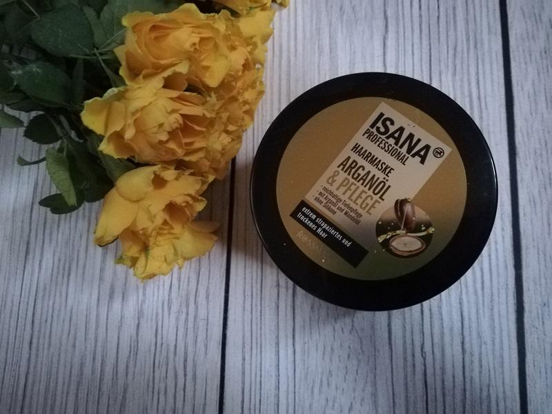 Isana Professional maska do włosów z olejem arganowym