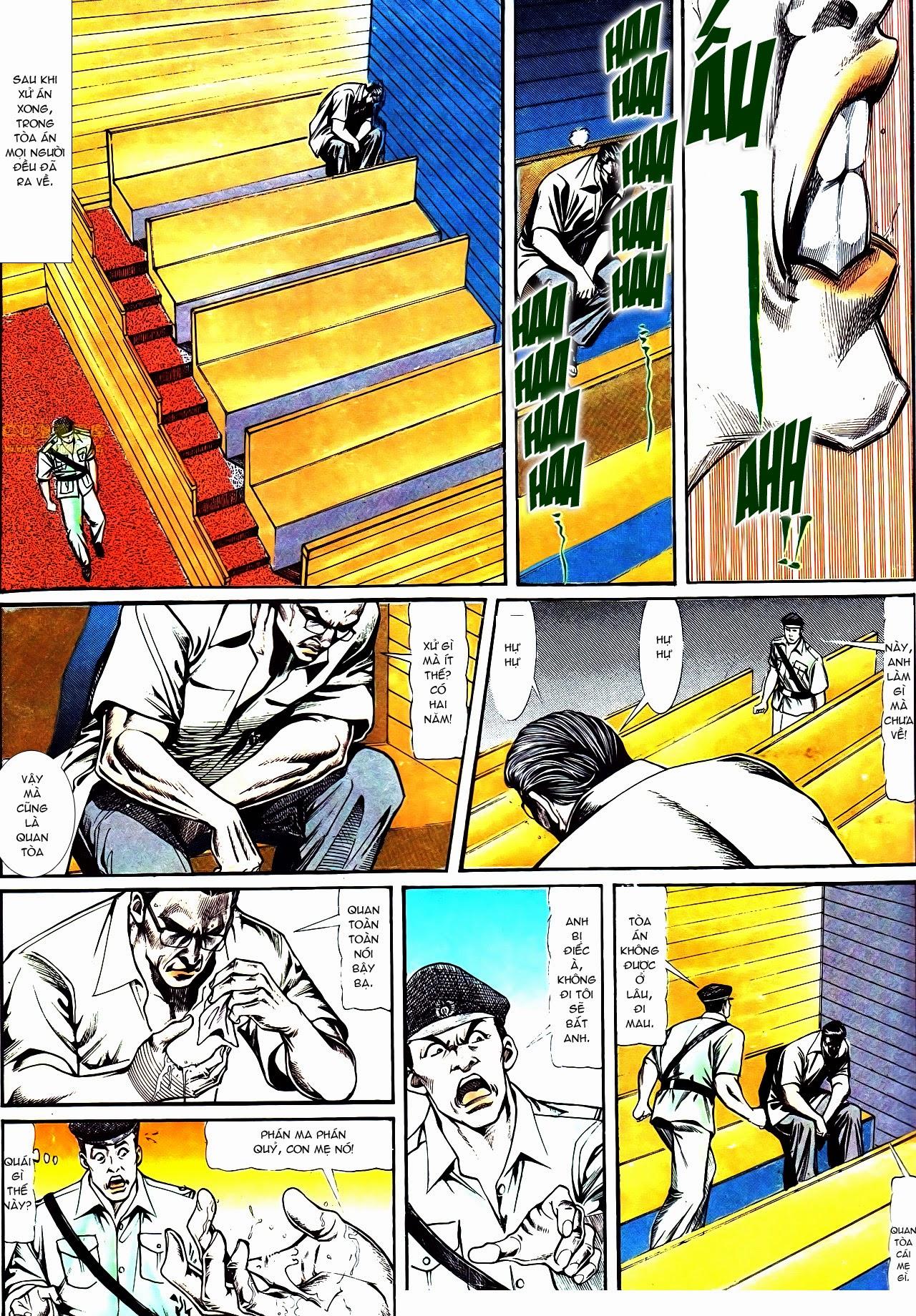 Người Trong Giang Hồ chapter 119: tù chung thân trang 27