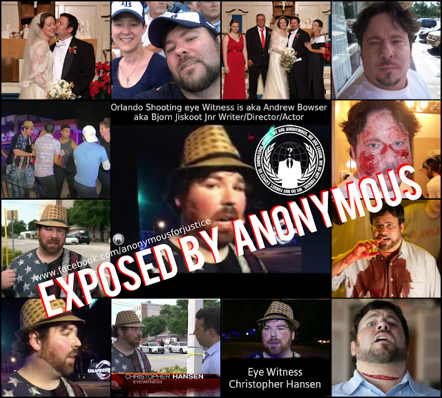 One Crisis Actor we have seen enough of – Bjorn Jiskoot aka Chris Hansen – Exposed by Anonymous