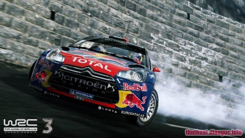 cấu hình chơi gameWorld Rally Championship 3