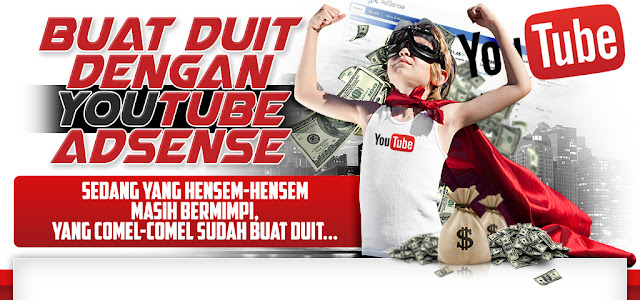 Panduan Buat Duit Dengan Youtube