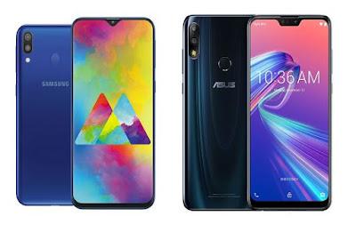 Samsung Galaxy M20 vs Asus Zenfone Max Pro M2