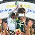 Palmeiras bate Chapecoense e ganha título brasileiro após 22 anos