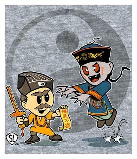 Gambar 10 Film Horor Mandarin Menghantui Kecilmu Serial