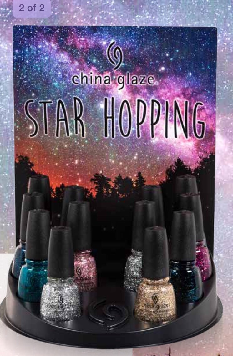China Glaze Presenta Crakle Glaze: The Cheryl Flavour: China Glaze Star Hopping Collection