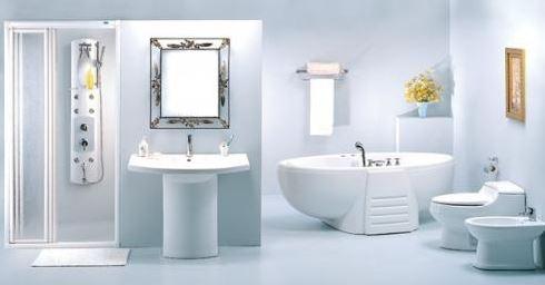Không nên đặt gương đối diện của nhà vệ sinh