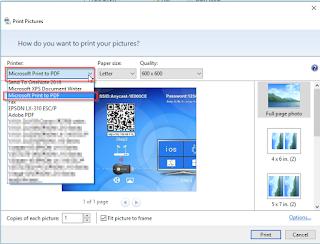 Cara Merubah Gambar Atau Foto Ke Format PDF Di Windows 10 Gratis