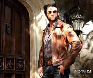 Hugh Jackman as Wolverine Logan in X Men Days of Future Past