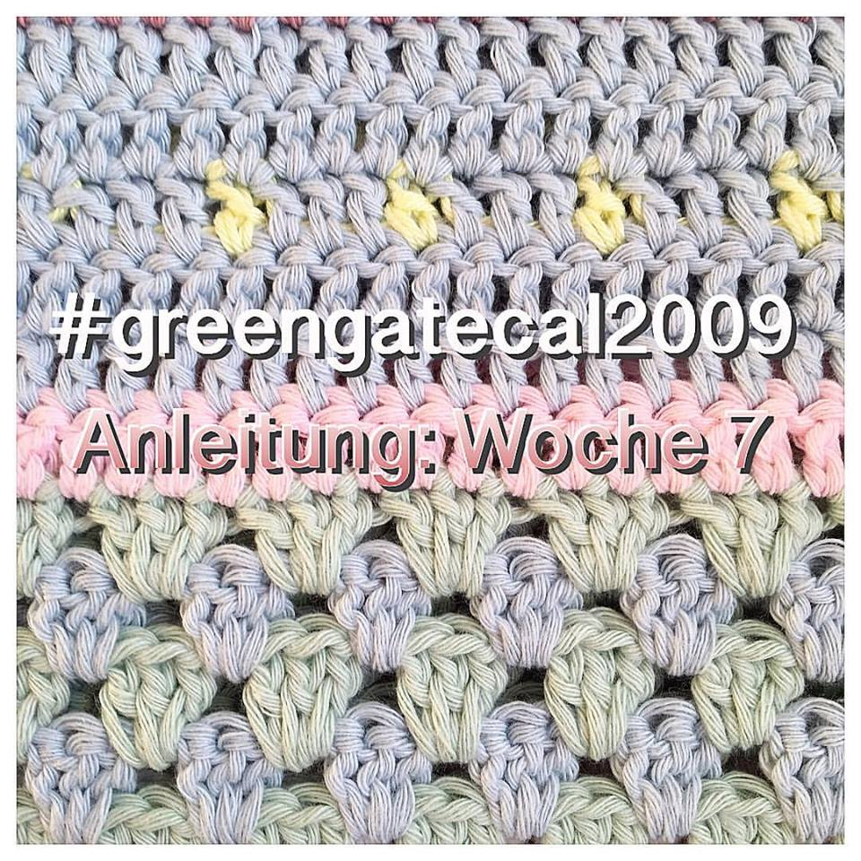 Windmühle21: Anleitung: GreenGate Häkeldecke Teil 7