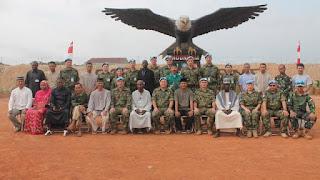 Inilah Suasana Perayaan Lebaran dan Shalat Ied Prajurit TNI Yang Bertugas Di Timur Tengah - Commando