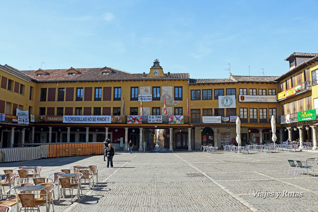 Plaza mayor de Tordesillas, Valladolid