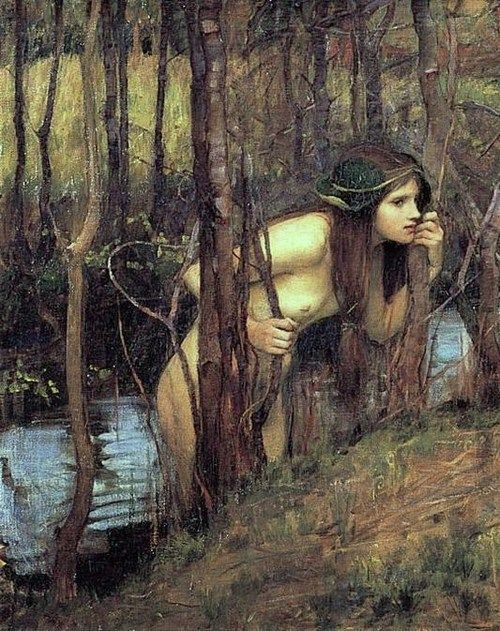 """Nymph""  John William Waterhouse"