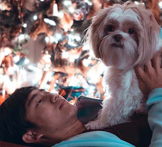 Kenny Austin dan Anjingnya