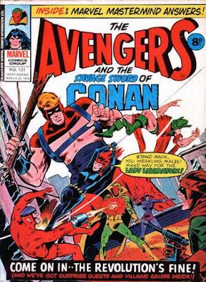 Marvel UK, Avengers #131, Lady Liberators
