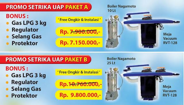 setrika%2Buap%2Bboiler Setrika Uap Boiler Untuk Laundry Kiloan Bisa Kredit atau Tanpa DP