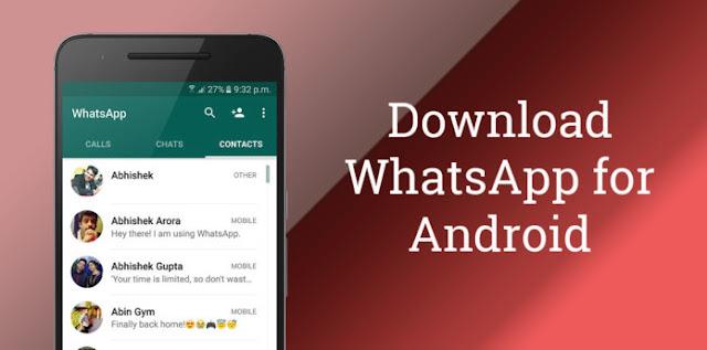 Télécharger Et Installer La Dernière Version De Whatsapp Pour Android