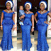 Simple And Unique Aso Ebi Styles with Cord Lace
