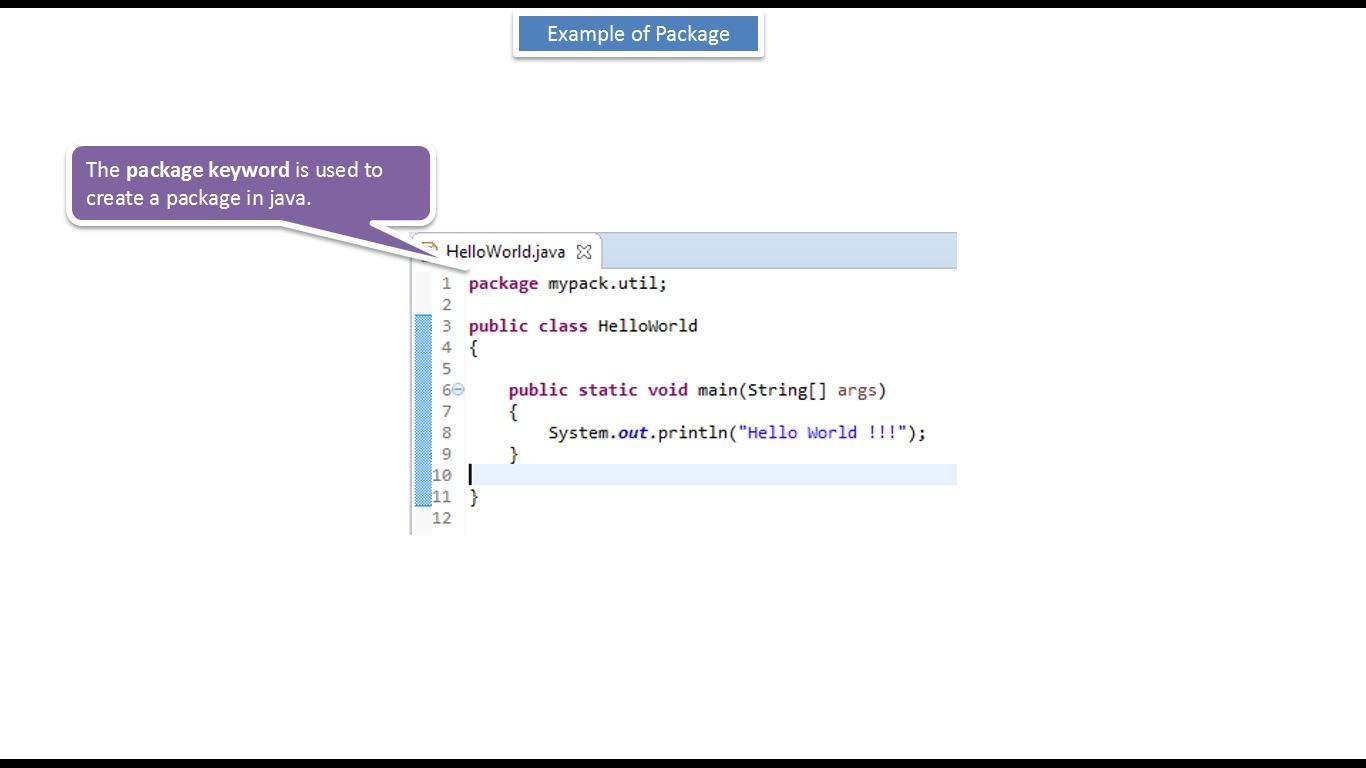 Java ee java tutorial java package example two level java tutorial java package example two level baditri Gallery