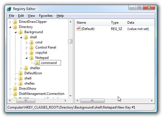 Menambah Sembarang Aplikasi ke Menu pintas klik kanan Desktop-gambar 5