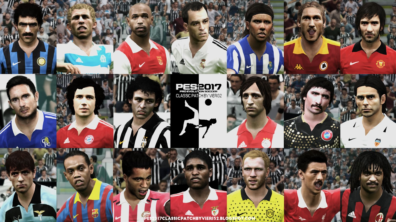 6ef2beb0e PES 2017 CLASSIC PATCH BY VIERI32 V2.0 All In One (AIO)