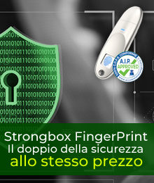 OFFERTA DEL MESE STRONGBOX USB FINGERPRINT