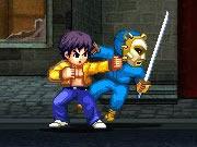 لعبة محارب النينجا
