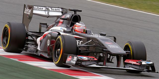 Gambar Mobil Balap F1 Sauber 01
