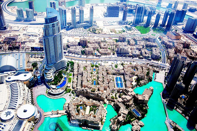 Il panorama dal Burj Khalifa