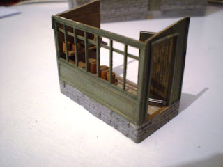 Porch from Wills kit parts